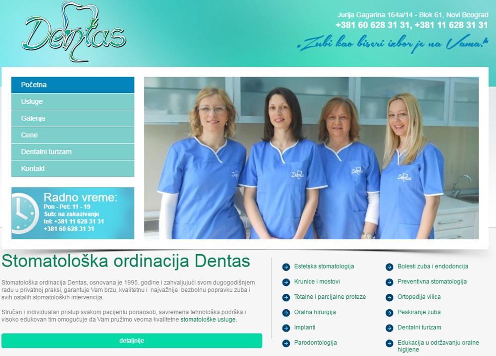 Stom. ordinacija Dentas