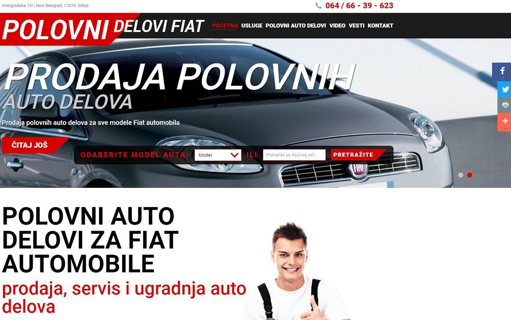 Auto otpad Fiat