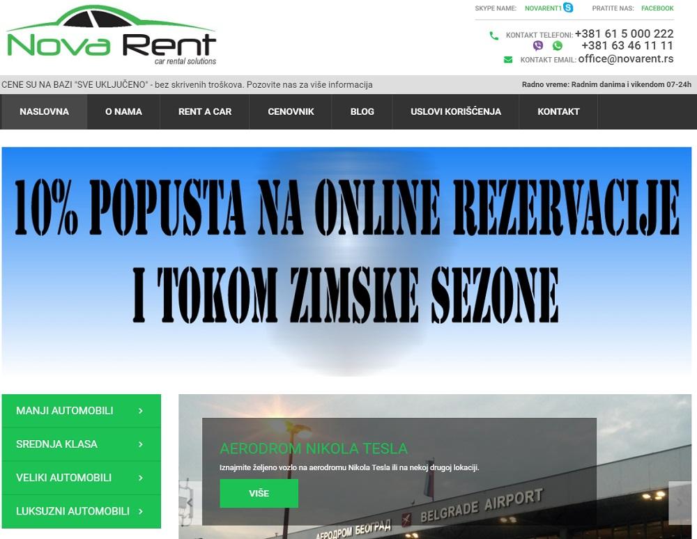 Nova rent